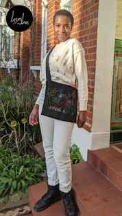 Embroidery design for chess bag by Egg and Pickle