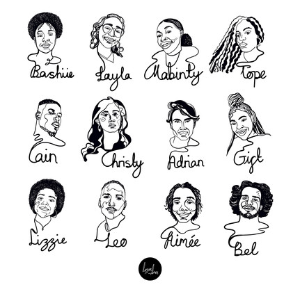 2020 Cohort Portraits