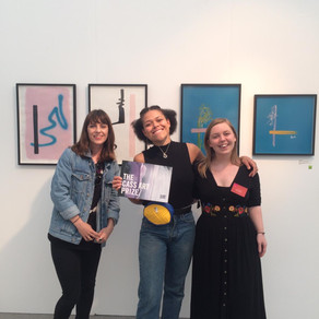 I won the £500 Cass Art materials bursary!