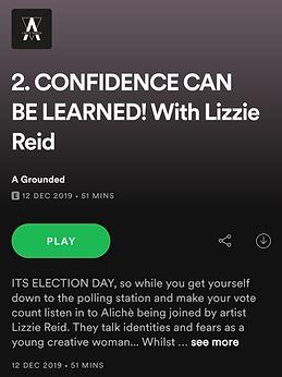A Grounded podcast with Lizzie Reid and