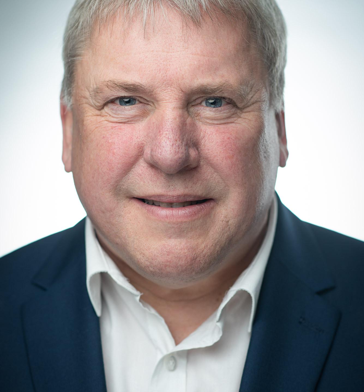 Dave Jordan Actors Headshot - banker, professional look