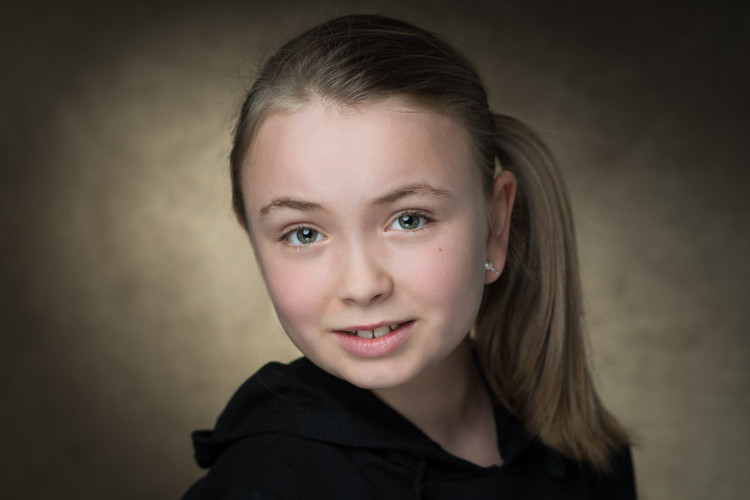 Actress Headshot by Ania Pankiewicz