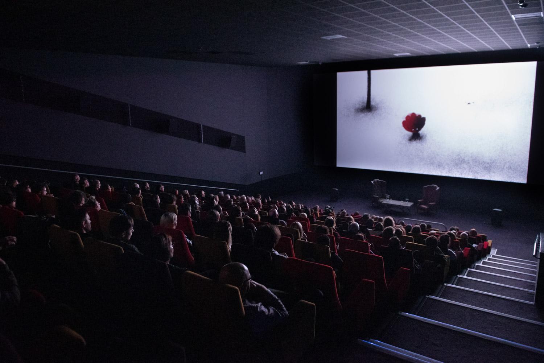 Screening of an animated short film