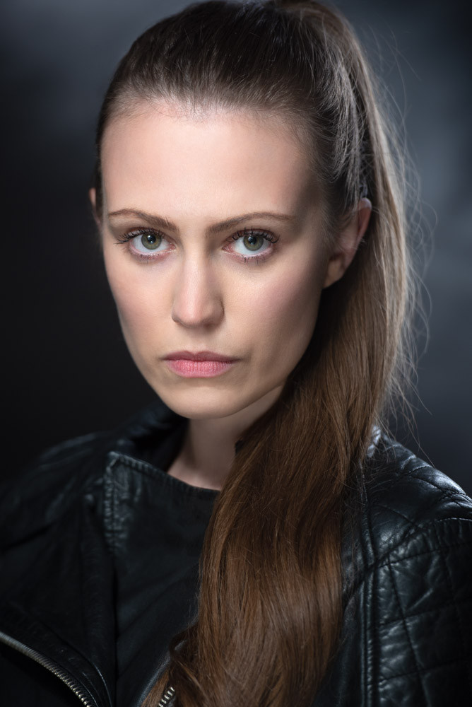 Actress Headshot by Ania Pankiewicz
