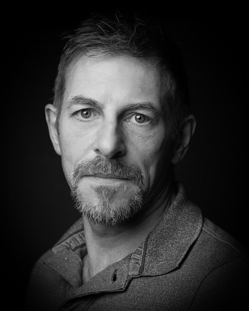 Matt Rigby black and white Actor Headshot