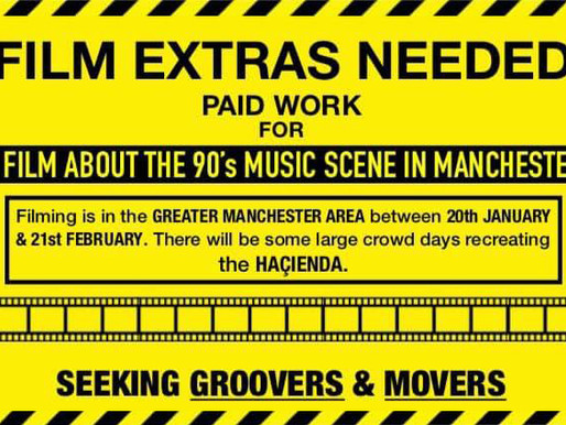 Film Extras Needed - Manchester Casting