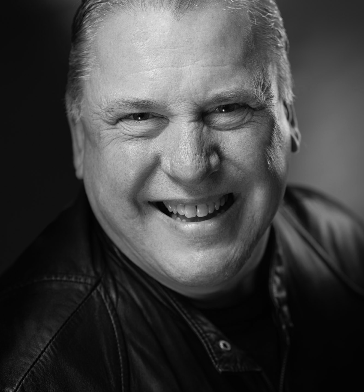 Dave Jordan Actors Headshot - friendly bouncer look