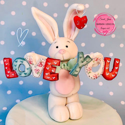 Valentine's rabbit