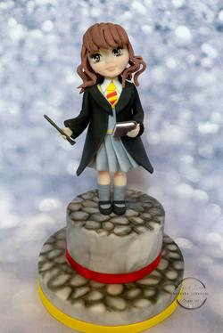 Hermione cake topper