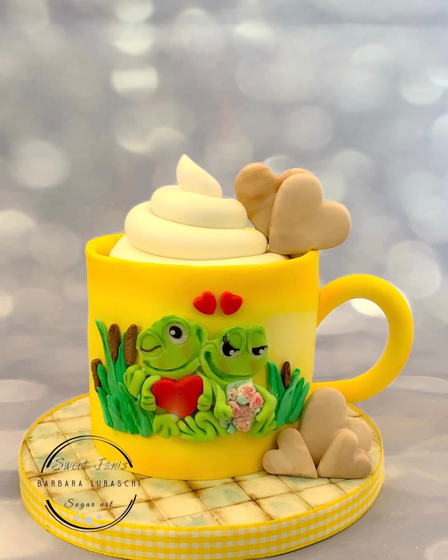 Valentine's mug cake
