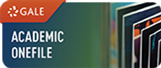 Gale Academic Onefile logo and link to database
