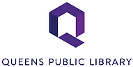Queens Public Library Logo and link to website