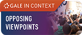 Gale in Context Opposing Viewpoints Logo and Link to database