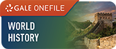 Gale Onefile World History Logo and Link to database