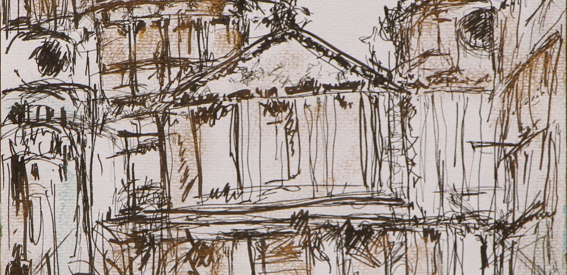 St Paul's Cathedral Sketch