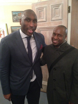 Me and Sol Campbell