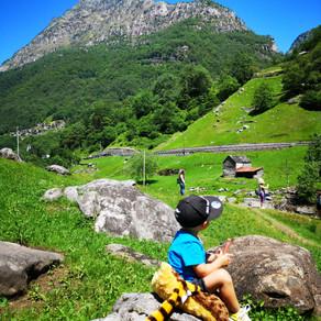 Virée camping au Tessin