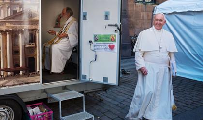 Paven på besøg?