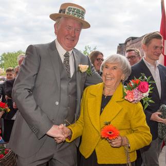 Torben Træsko og Lise Nørgaard