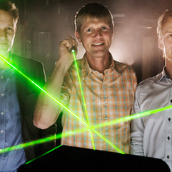 Firmaet Norlase har udviklet et laserlys, der har en helt enestående kvalitet. Laserne ændrer sig fra at være usynlige til synlige og ekstremt