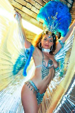 Samba Shows mit Sambatänzerin Vero