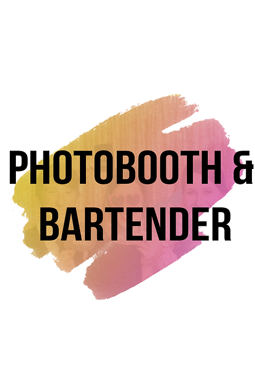 Photobooth & 1 Bartender Package