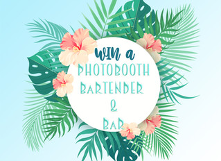 WIN a Photo Booth + Bartender!