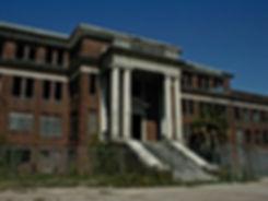 Jefferson Davis Haunted Hospital in Houston
