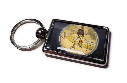Coolrideplates® Double-sided Unique Vintage Penny Farthing