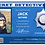 Thumbnail: Coolrideplates® Kid's Personalised Detective style ID