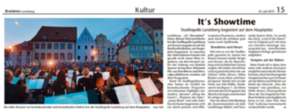 Stadtkapelle Landsberg Ruethenestkonzert 2019