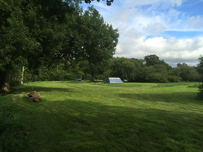 East Sussex campsite