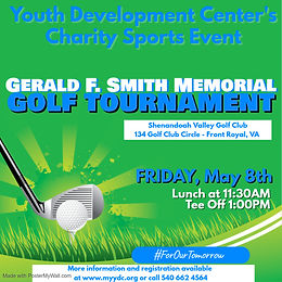 Sponsorship - The YDC's Gerald F. Smith Golf Tournament 2020