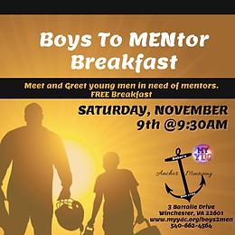 Boys to MENtor Breakfast