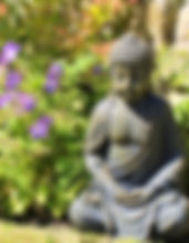 Brook Cottage - Garden 6 - Buddha (2).JP