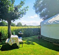 The Hideaway Yurt-Garden.jpg