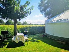 The Hideaway Yurt-Garden.jpg
