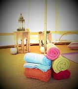 Towels and mats - bell tent.jpg