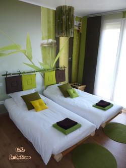 Chambre bambou la laotienne