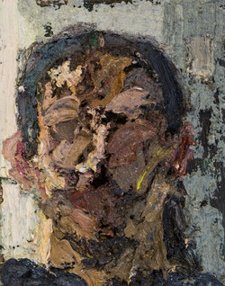 Self-portrait in studio No.2 (void)