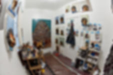 East end of studio