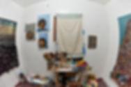 North end of studio