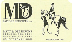 MD Saddle Services