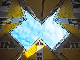 Unique architectural design