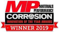 NACE MP Corrosion Innovation Awards WINNER