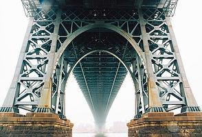 Steel bridge substructures