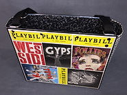Playbill Tote West Side Story Gypsy Follies Sweeney Todd On the Town