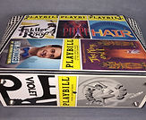 Playbills Violet, Hair, Fiddler on the Roof Anything Goes How to Suceed...Pippin King and I