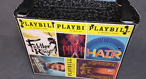 Playbill Tote: Pippin Hair Fiddler King and I How to Succeed