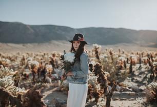 DESERT BRIDAL SHOOT | TWENTYNINE PALMS, CALIFORNIA